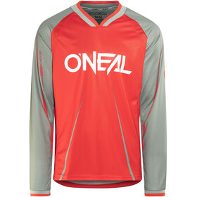 ONeal Element FR Long Sleeve Jersey Men Blocker red/gray